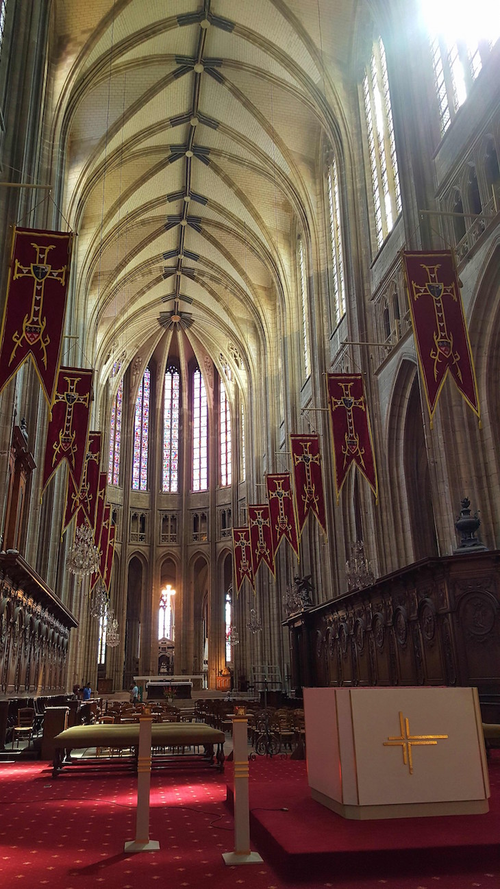 Catedral de Orléans, Vale do Loire, França © Viaje Comigo
