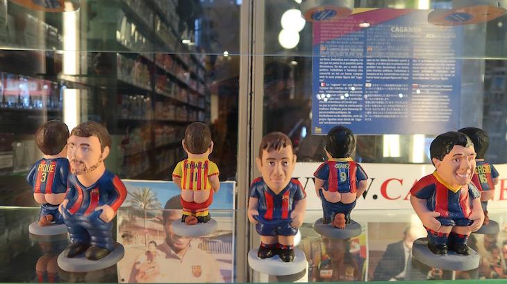 Caganer - Barcelona © Viaje Comigo