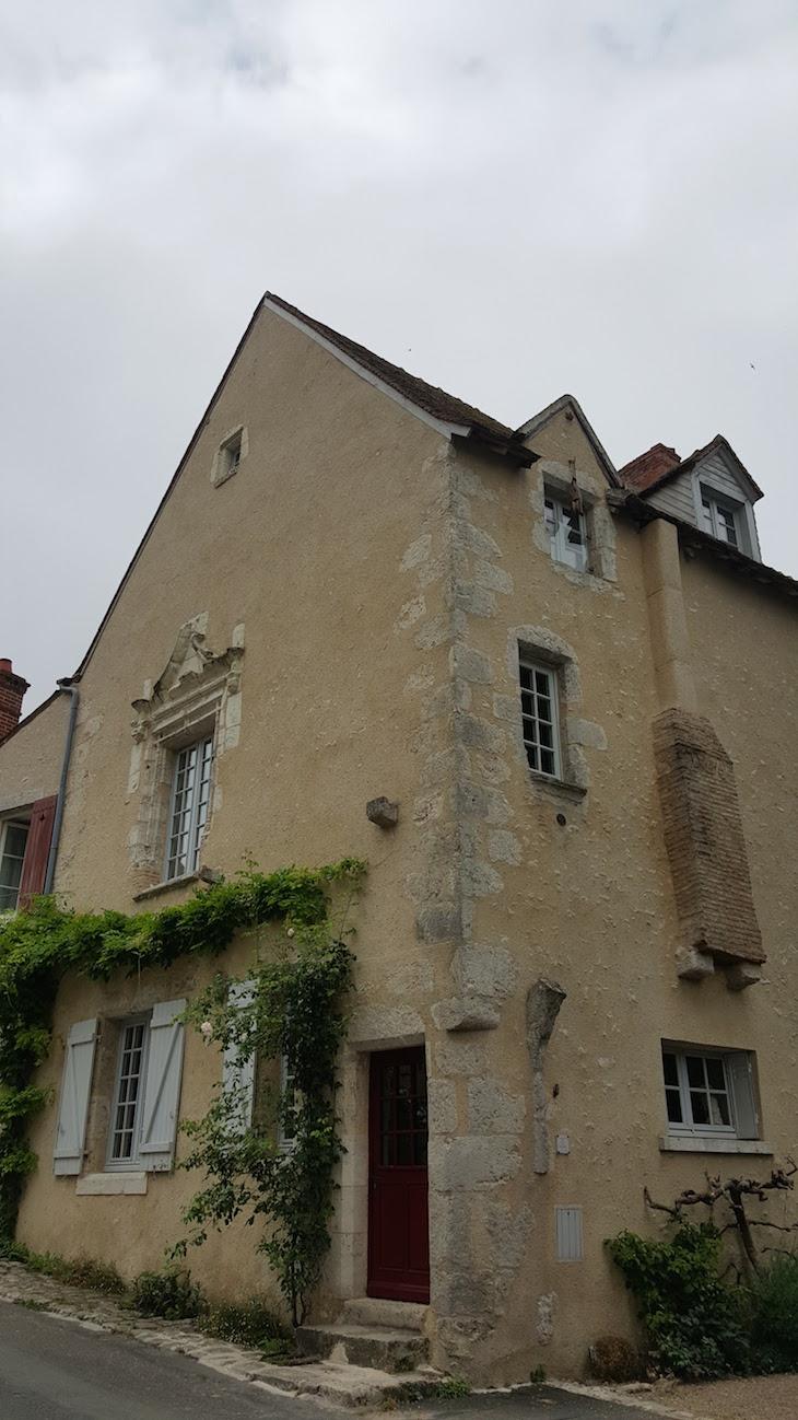 Casas em Saint-Dyé-Sur-Loire - Vale do Loire - França © Viaje Comigo
