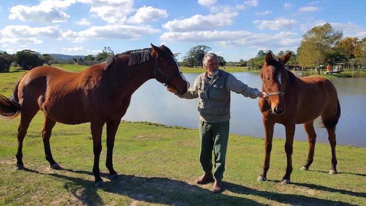Cavalos da Cabanha Costa do Cerro - Caminhos Rurais - Porto Alegre - Brasil © Viaje Comigo
