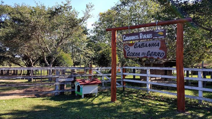 Cabanha Costa do Cerro - Caminhos Rurais Porto Alegre - Brasil © Viaje Comigo
