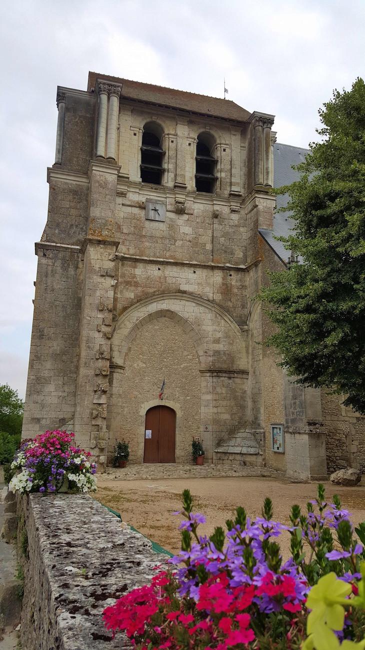 Igreja em Saint-Dyé-Sur-Loire - Vale do Loire - França © Viaje Comigo