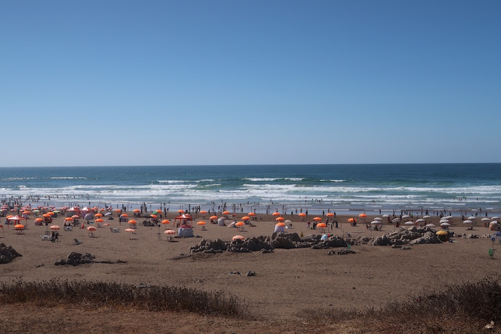 Praia em Casablanca, Marrocos © Viaje Comigo