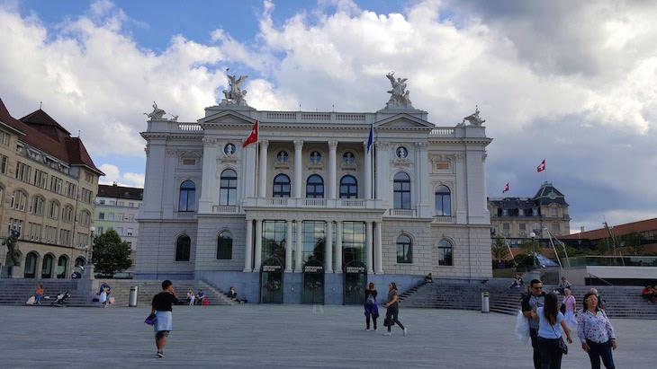 Ópera de Zurique - Suíça © Viaje Comigo