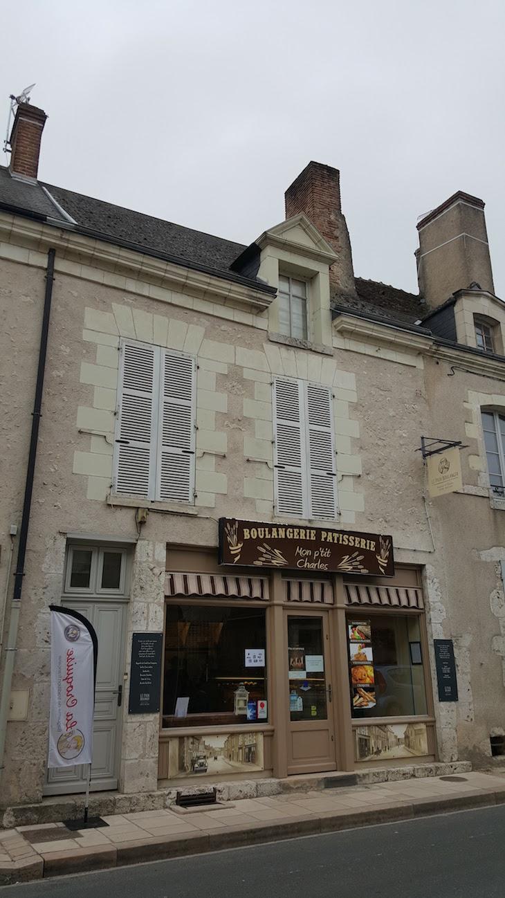 Padaria em Saint-Dyé-Sur-Loire, França © Viaje Comigo