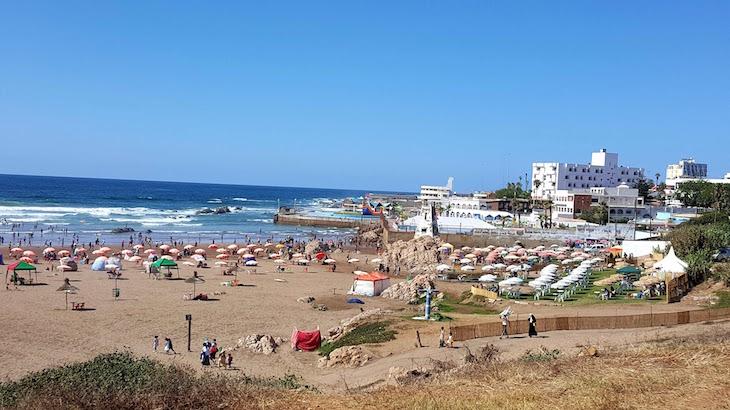Praia de Casablanca - Marrocos © Viaje Comigo