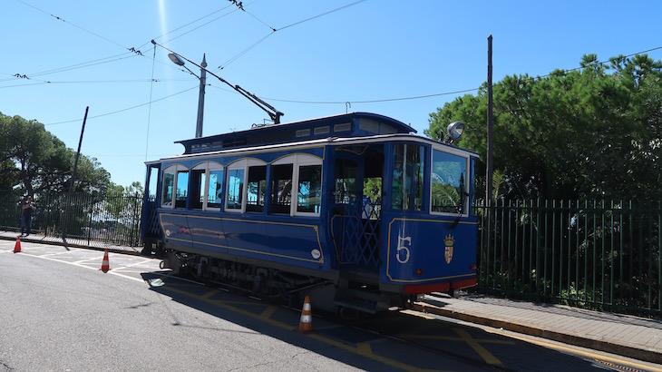 Elétrico Tramvia Blau - Barcelona © Viaje Comigo