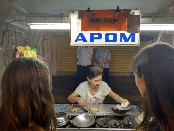 Apom - George Town - Penang - Malásia © Viaje Comigo