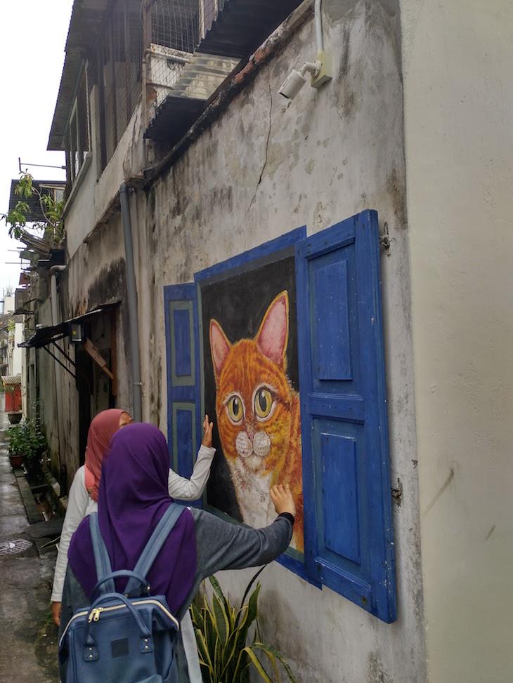 Nas ruas de George Town, Penang, Malásia © Viaje Comigo