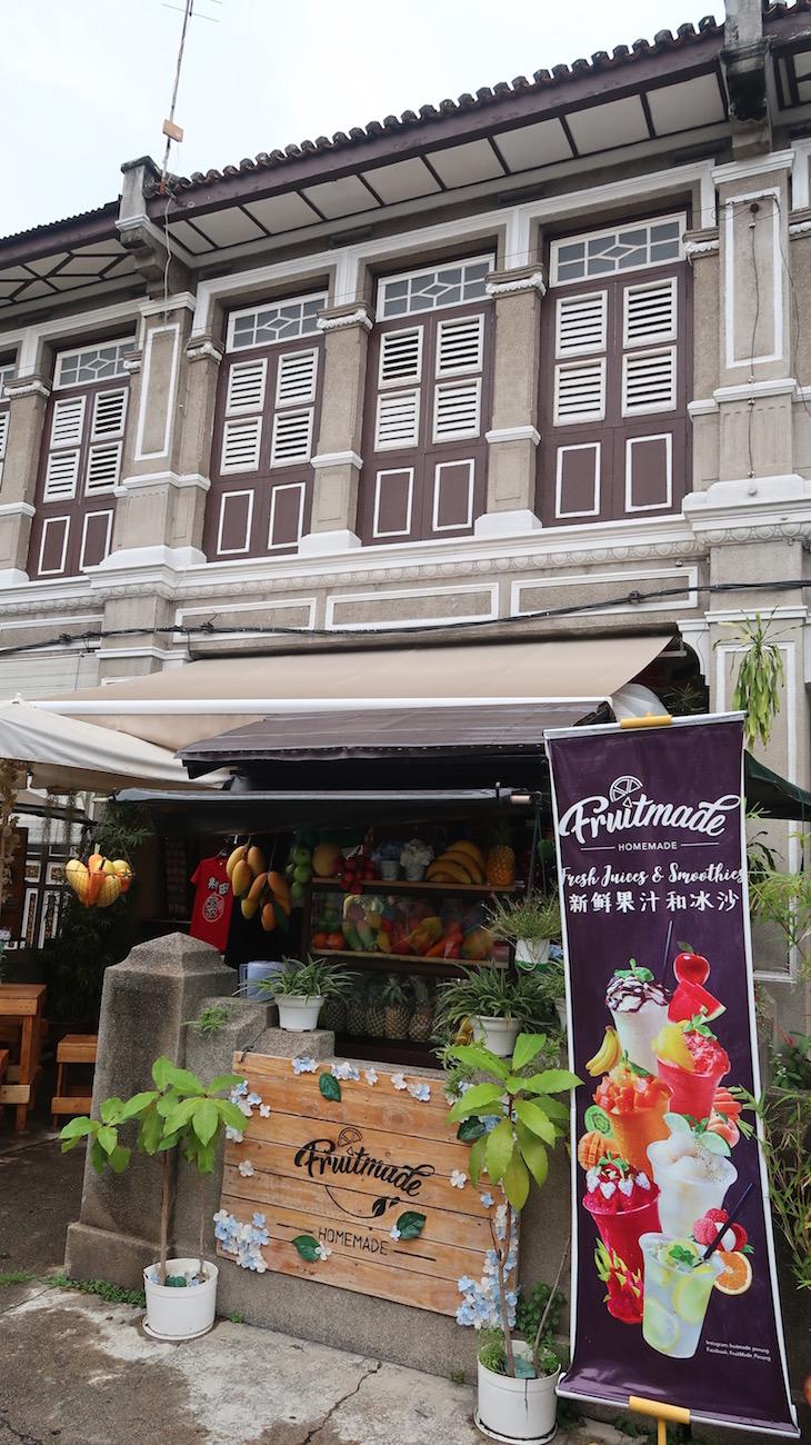 Bar de Sumos - George Town - Penang - Malásia © Viaje Comigo