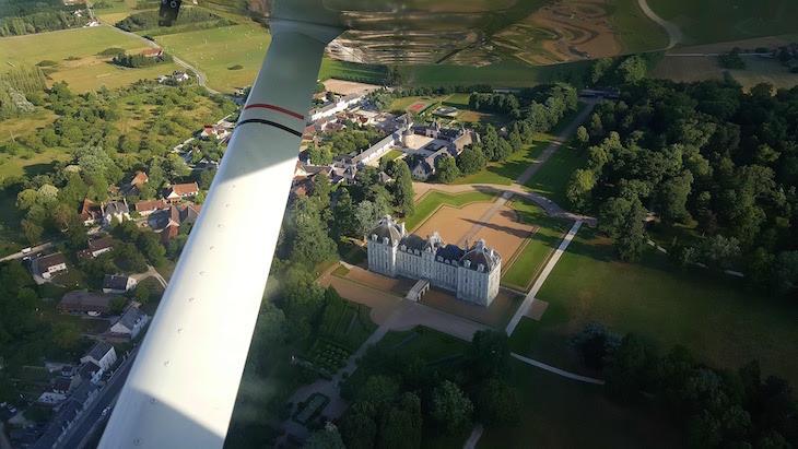 Château de Cheverny - Voo com a Loisirs Loire Valley © Viaje Comigo