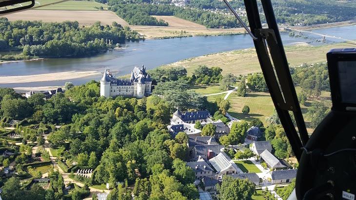 Château de Chaumont-su-Loire - Voo com a Loisirs Loire Valley © Viaje Comigo