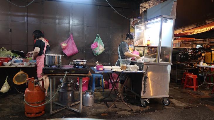 Cozinha de rua - George Town - Penang - Malásia © Viaje Comigo
