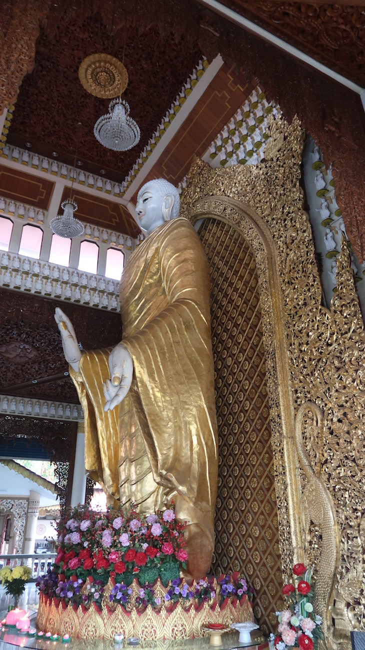 Buda Dharmikarama - Penang - Malásia © Viaje Comigo