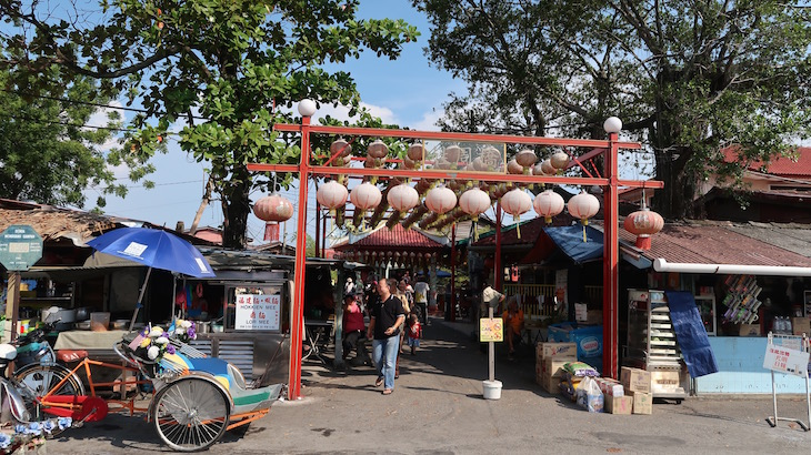 Chew Jetty - Penang - Malásia © Viaje Comigo