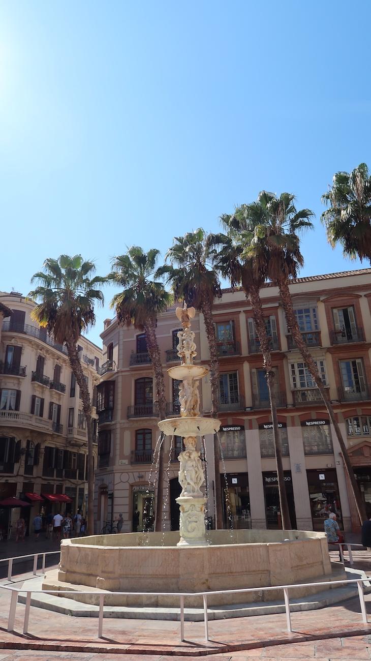 Fonte de Génova - Málaga - Espanha © Viaje Comigo