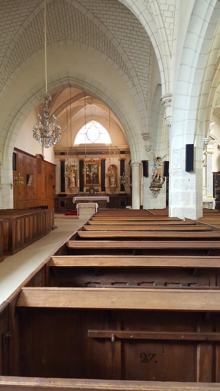 Igreja de Saint Etienne, Cheverny, Vale do Loire, © Viaje Comigo