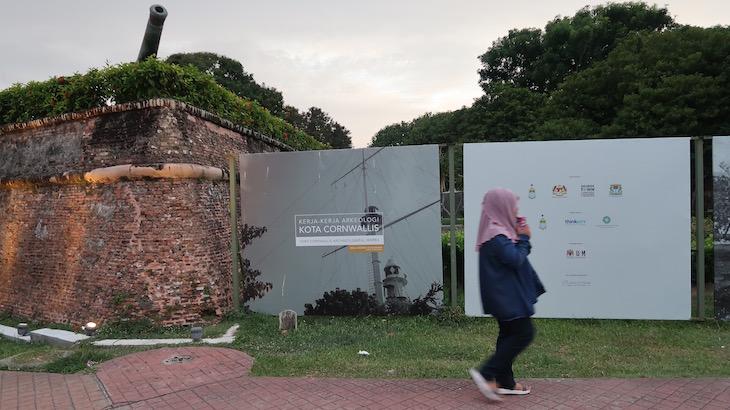 Forte Cornwallis, George Town, Penang, Malásia © Viaje Comigo