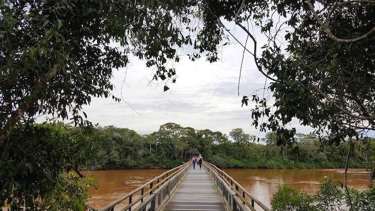 No caminho para Garganta del Diablo - Cataratas del Iguazú, Argentina © Viaje Comigo