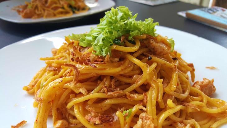 Noodles do Selfie Coffee - George Town - Penang - Malásia © Viaje Comigo