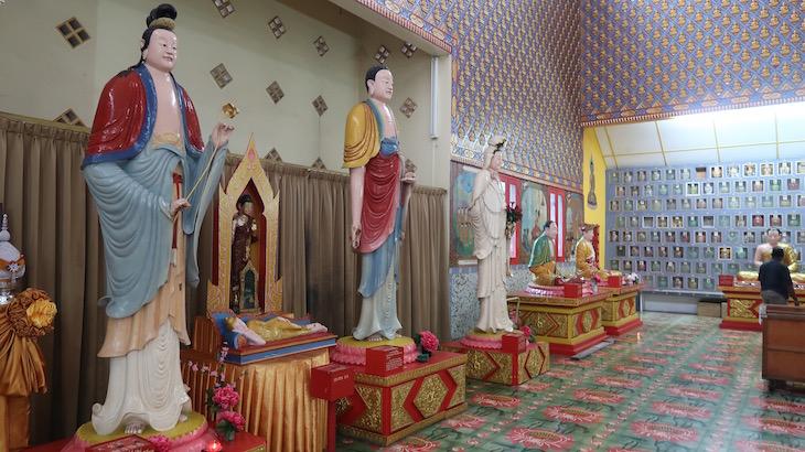 Templo do Buda Deitado - Penang - Malásia © Viaje Comigo