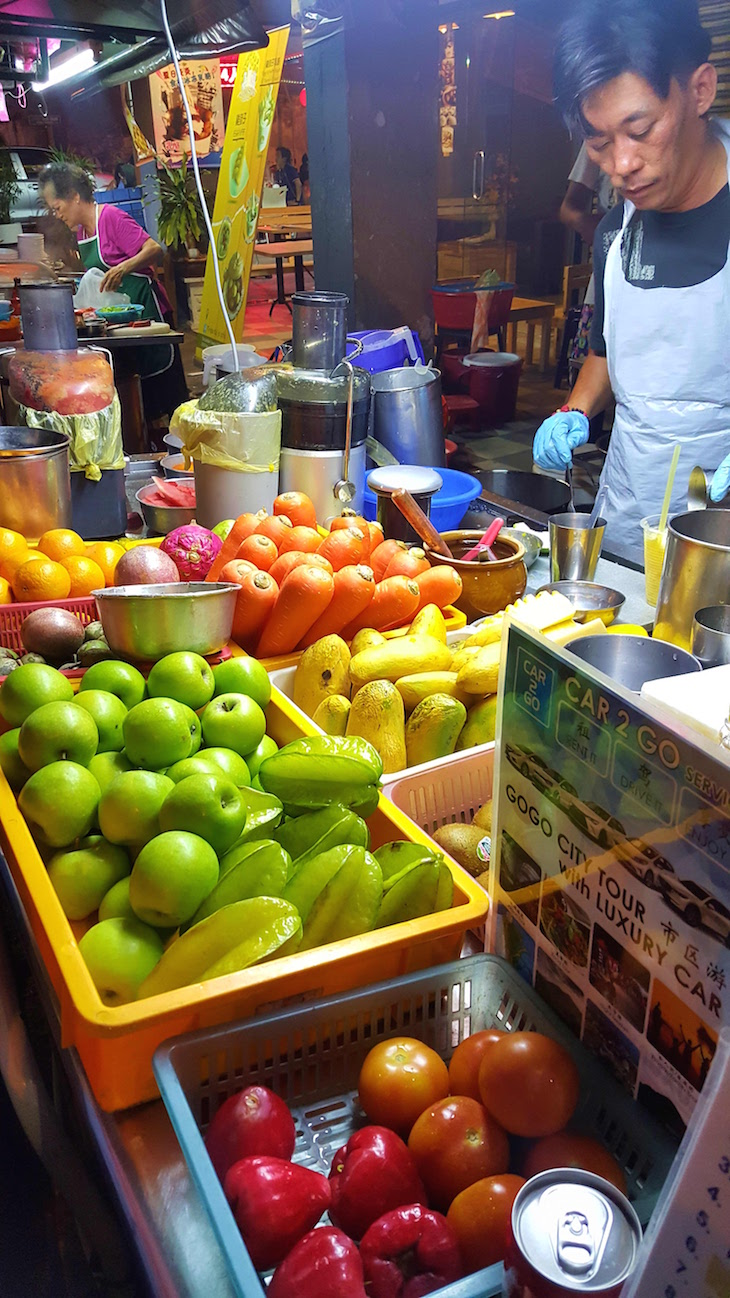 Para sumos naturais - George Town - Penang - Malásia © Viaje Comigo