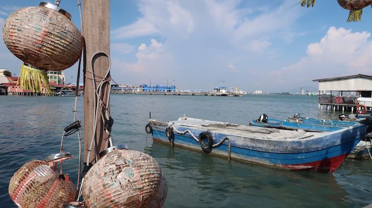 Porto de Chew Jetty - Penang - Malásia © Viaje Comigo