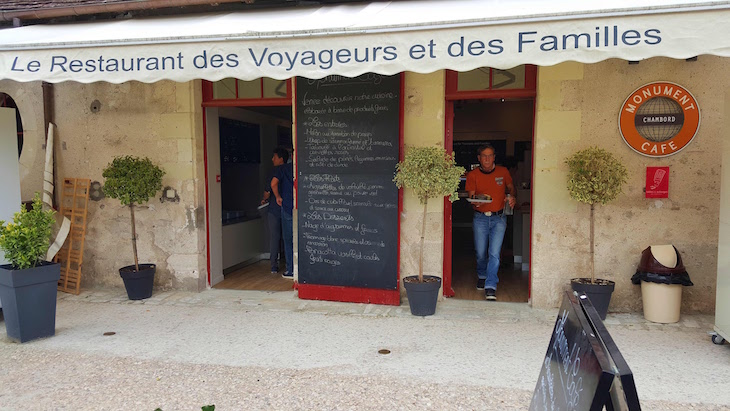 Monument Cafe - Château de Chambord - França © Viaje Comigo