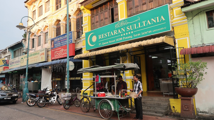 Restaurante Little India -George Town - Penang - Malásia © Viaje Comigo