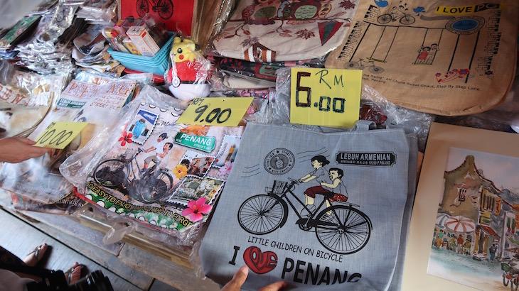 Compras em Chew Jetty - Penang - Malásia © Viaje Comigo