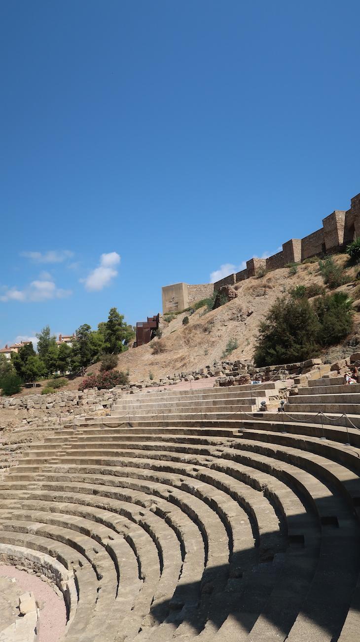 Teatro romano - Málaga - Espanha © Viaje Comigo