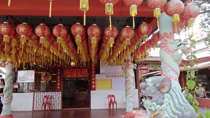 Templo de Chew Jetty - Penang - Malásia © Viaje Comigo