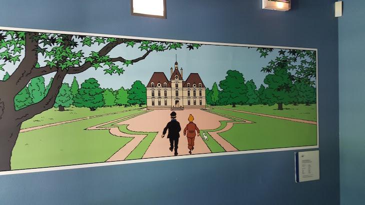Tintin e o Château Cheverny - Vale do Loire - França © Viaje Comigo