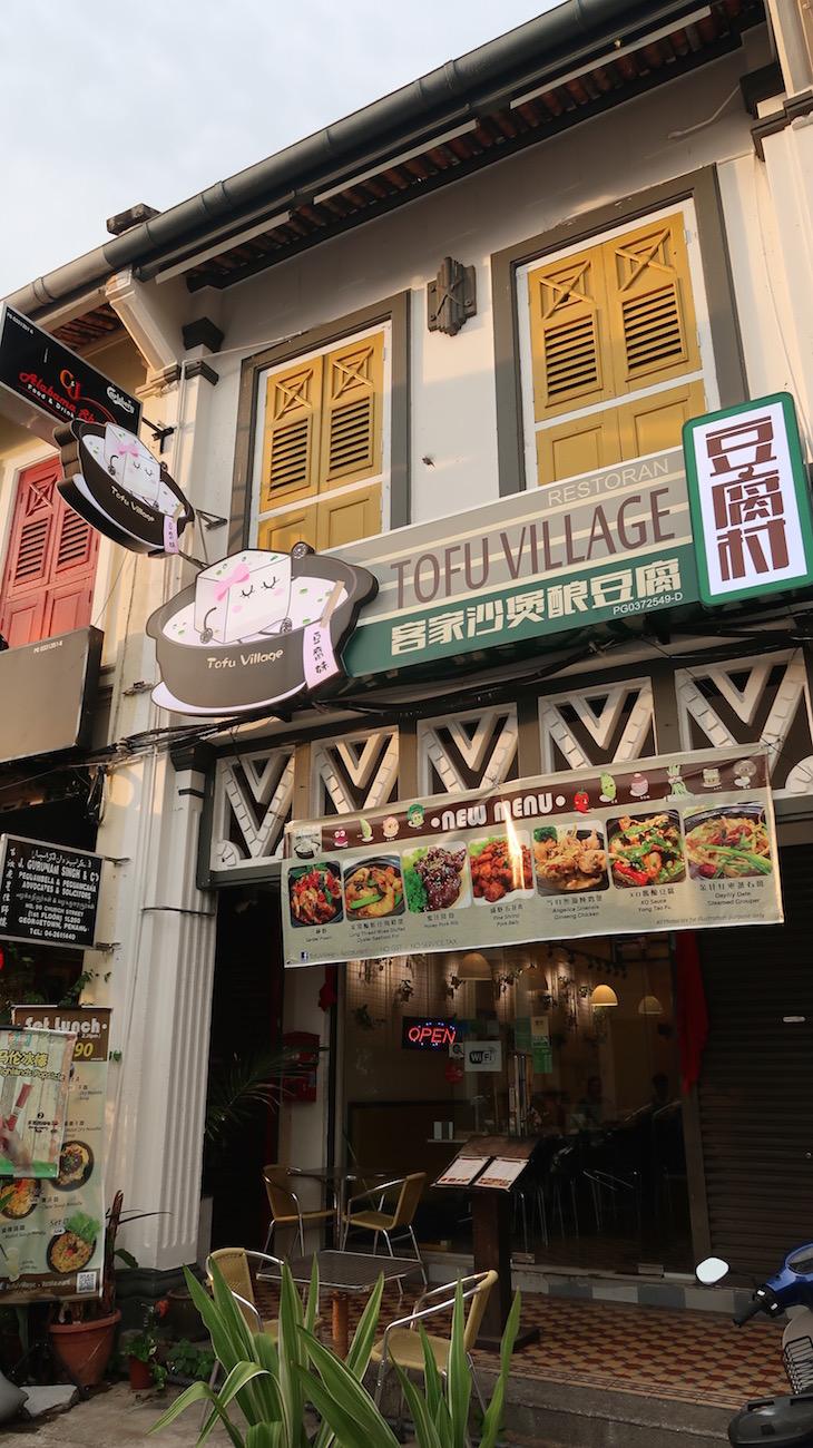 Especialista em tofu - George Town - Penang - Malásia © Viaje Comigo