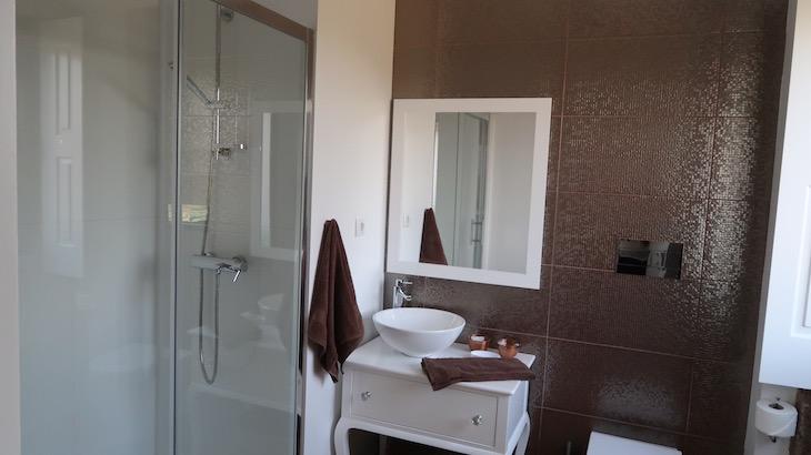 Casa de banho na Casa da Visa, Vila do Pinheiro, Vila do Conde © Viaje Comigo
