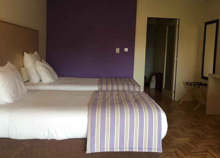 Quarto do Hotel Rural Misarela © Viaje Comigo