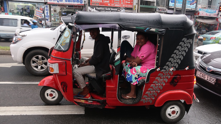 Tuk Tuk no Sri Lanka © Viaje Comigo
