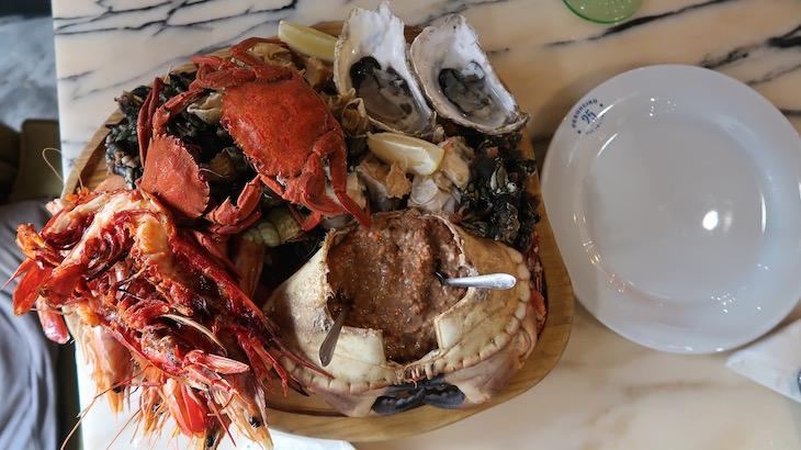 Tábua de Mariscos - Restaurante Pesqueiro 25 - Lisboa © Viaje Comigo