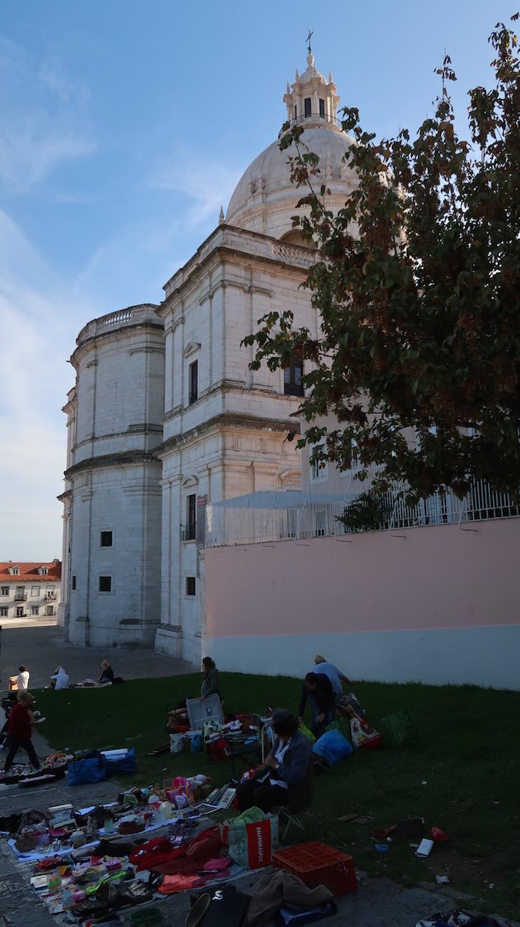 Feira da Ladra, Lisboa, Portugal © Viaje Comigo