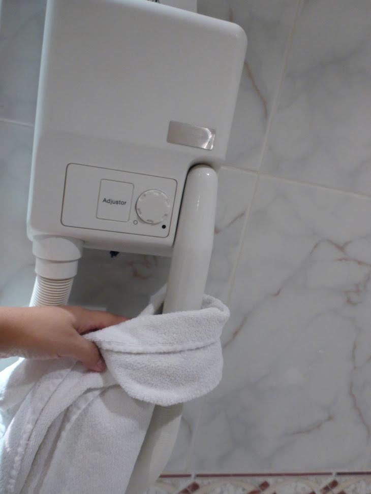 Secador de parede de hotéis © Viaje Comigo
