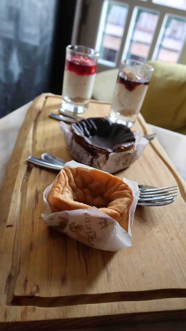 Sobremesas do Restaurante Pesqueiro 25 - Lisboa © Viaje Comigo