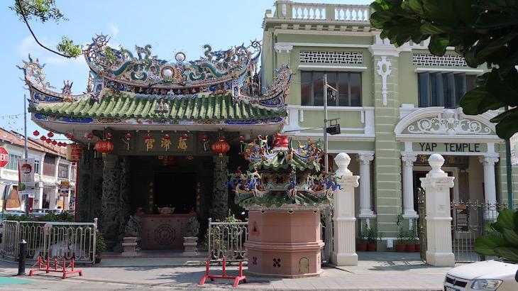 Templo Yap Kongsi, George Town, Penang, Malásia © Viaje Comigo