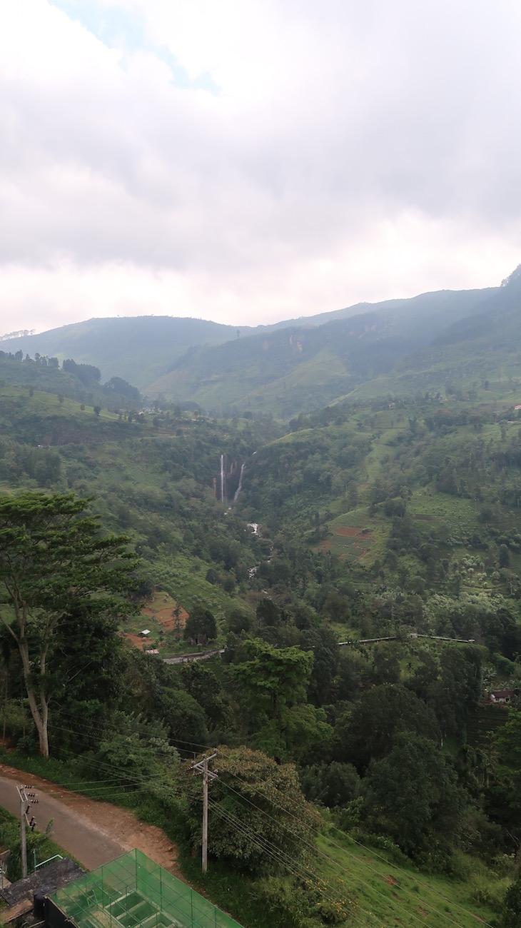 Vista do Oak Ray Tea Bush Hotel, Ramboda, Sri Lanka © Viaje Comigo