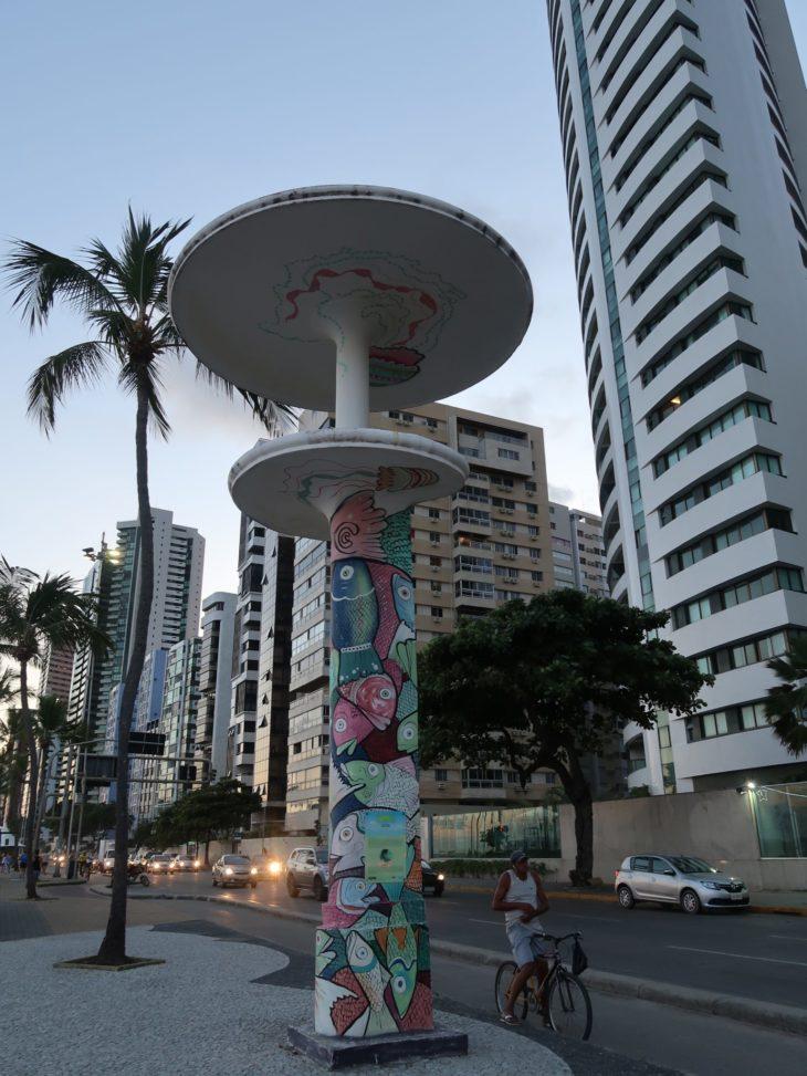 Praia de Boa Viagem - Recife - Brasil © Viaje Comigo