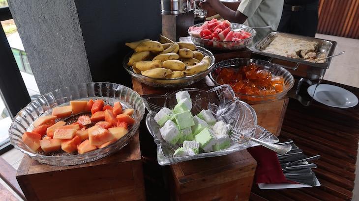 Comida no Oak Ray Tea Bush Hotel, Ramboda, Sri Lanka © Viaje Comigo