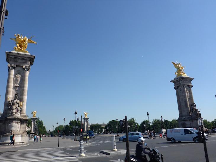Ponte Alexandre III, Paris, França © Viaje Comigo