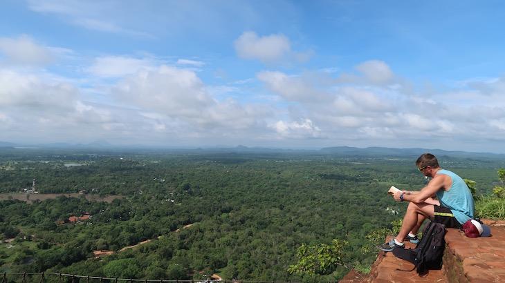 No topo de Sigiriya, Sri Lanka © Viaje Comigo