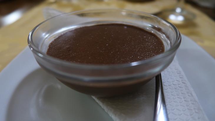 Mousse de chocolate na Tasquinha da Portela - Melgaco - Portugal © Viaje Comigo