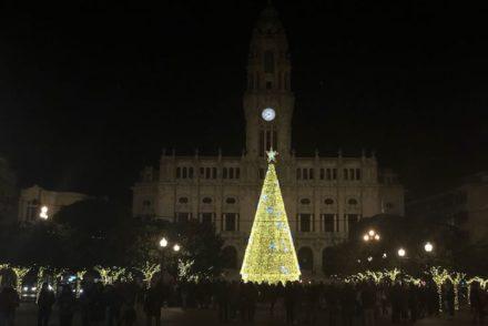Árvore de Natal 2017 - Câmara do Porto © Viaje Comigo