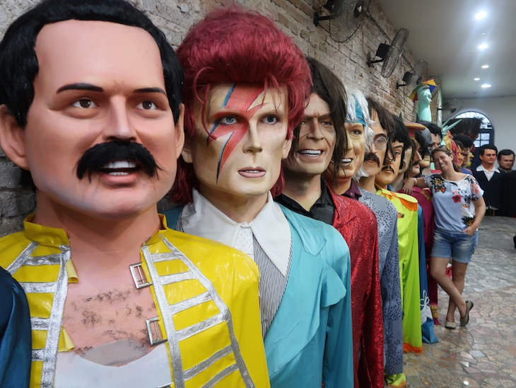Embaixada de Pernambuco - Bonecos Gigantes de Olinda - Recife, Brasil © Viaje Comigo